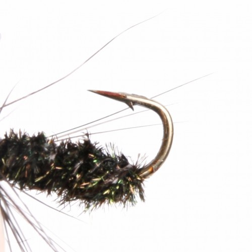 Nymph And Wet Fly Flies 12# Hook Assortment For Fly Fishing 8 Patterns Deluxe Kit