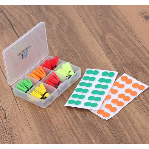 fly fishing strike indicator foam easy to use 10 pack