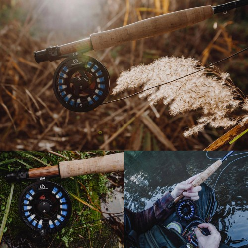 Amigo 8'6''/9' 4/5/6/7/8wt Fly Fishing Rod with Cordura Tube