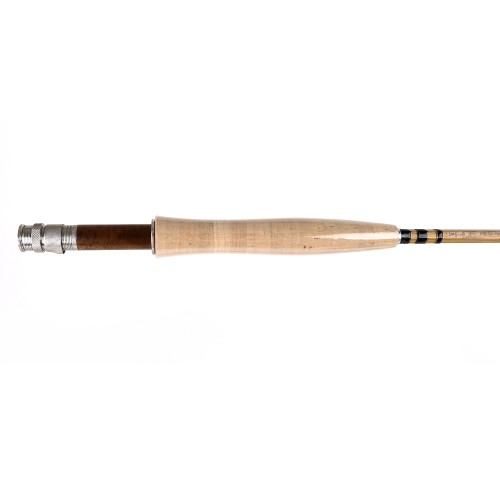 Bamboo fly rod 7652 double tip