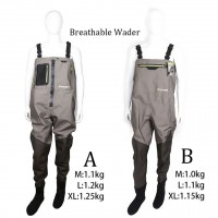 Outdoor Breathable Fly Fishing Wader Waterproof Wading Pants