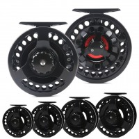 DM 3-10wt Fly Fishing Reel Outside Dia 74-108mm Die-casting Large Arbor Aluminum Fly Reel
