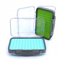 Silicone Box Easy-grip Tackle Boxes Double Side Clear Lid Fly Fishing Box(Only in Maxcatch Website)
