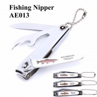 High Quality 3pcs/ lot Popular Fishing Tool Accessory Rainbow/Brook/Brown Fishing Nipper Fishing Line Clipper