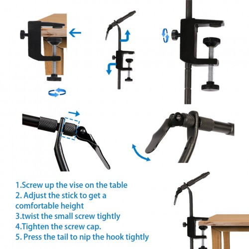 Fly Tying Vise CVS