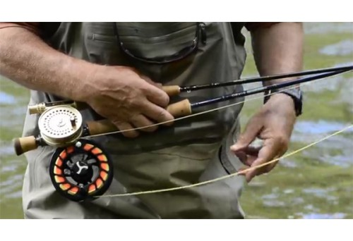 How to Set Up a Fly Fishing Rod and Reel?