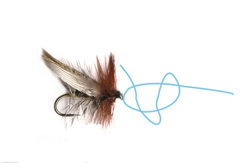 How To Tie A Fly Fishing Knot