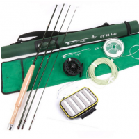 6.6FT Mid-Fast 2# Super Light Fly Fishing Rod Combo