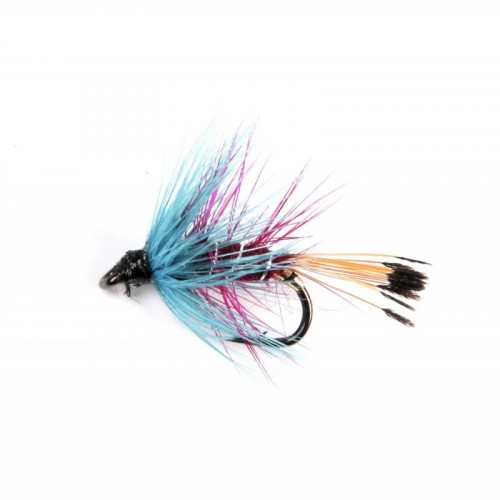 Professional fly fishing Wet flies assortment
