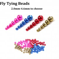 Tungsten Fly Tying Beads Metalic Nymph Ball Beads