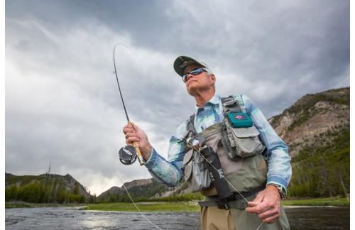 Practice With Fly Fishing Tackles Used