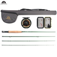 Premier Fly Fishing Rod Combo, Rod and Reel Outfit, 5/6 weight