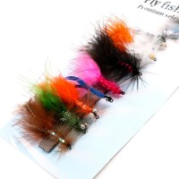 Nymph Rainbow Trout Flies 2# 6# 8 Patterns Assortment Fly Fishing