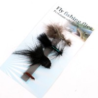 Streamer Dry Flies/Lure For Fly Fishing 4 Patterns 1/0#, #4