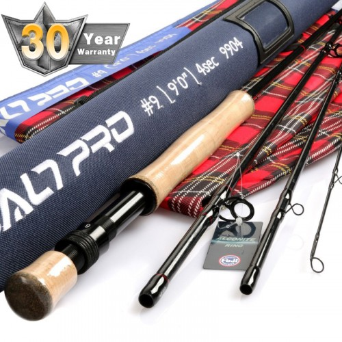 Saltpro Professional Saltwater IM10 Fast Action Fly Rod