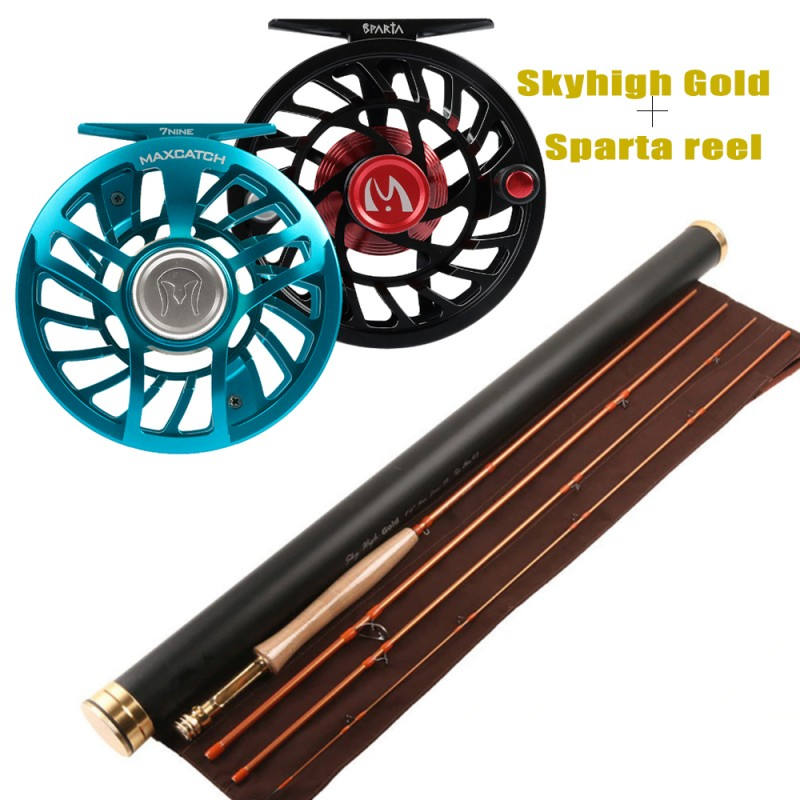 Skyhigh Rod +Sparta reel(Please leave a message for the size and color Blue/Black) +$130.00