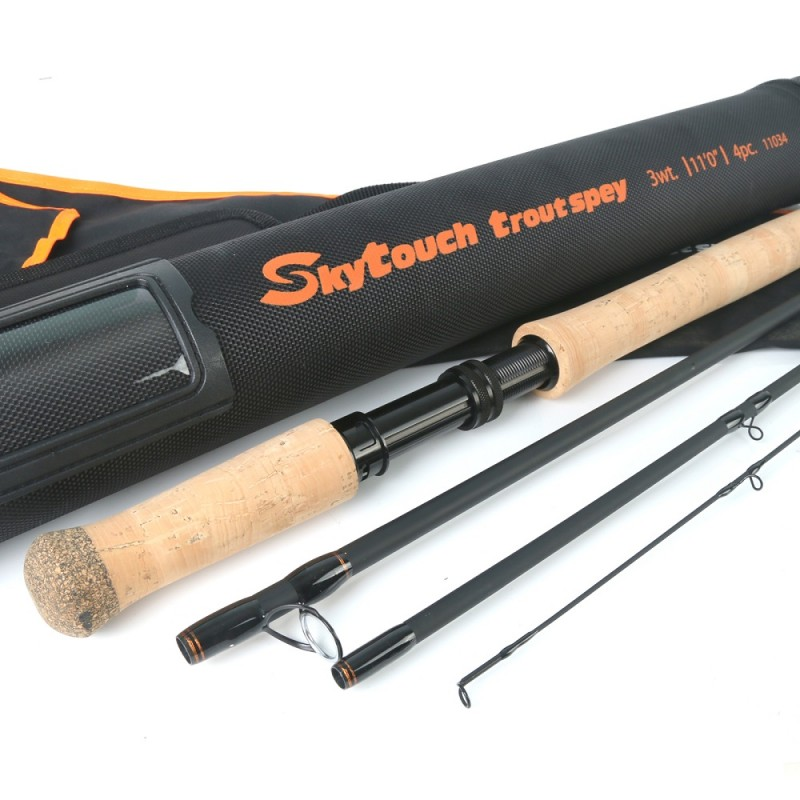Skytouch trout spey 11' 3wt 4pcs +$13.00