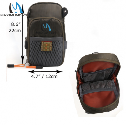 Fly Fishing Bag Fishing Chest Pack Fly Bag With Five Fishing Tool Accessories
