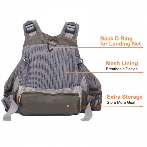Fishing Vest / Fishing Sling Pack / Fishing Backpack