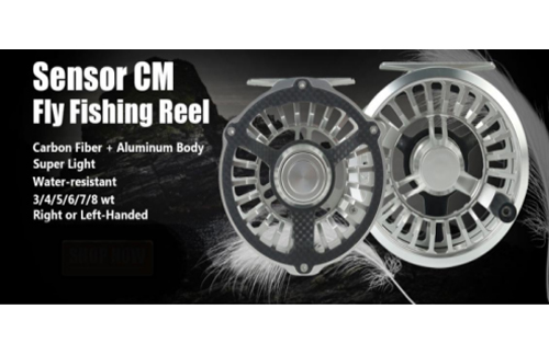 The Best Reel For The Money: Maxcatch CM Carbon Fiber Sensor Waterproof Fly Reel