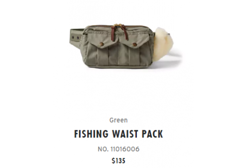 Which Waist Pack Can Substitute Filson Fly Fishing Waist Pack?