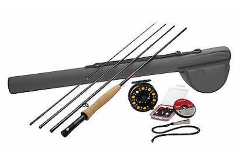 World class abu garcia diplomat fly fishing kit combo