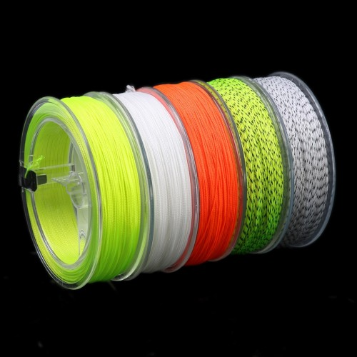 Maxcatch Fly Line Backing Line 20LB 50/100/300Yards White Orange Yellow Braided Fly Fishing Line