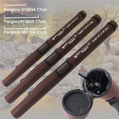 Farglory Medium Fast Nymph Fly Rod with Extension Section