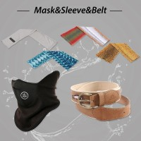 MASKS, SLEEVES & BELTS (5)