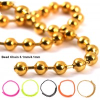 Fly Tying Bead Chain 3.1mm 4.1mm