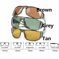 Camouflage Frame Fly Fishing Polarized Sunglasses Gray/Yellow/Brown Color Fishing Sunglasses