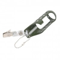 Maxcatch Dry Fly Fishing Aluminum Floatant Amy Green Bottle Holder Fly Fishing Tool