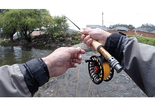 How to cast a fly fishing rod