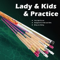 YOUTH & PRACTICE RODS (3)