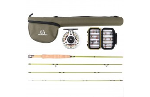 Major features of silver stream fly fishing kit