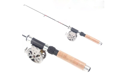 Spin fly combo fishing rod