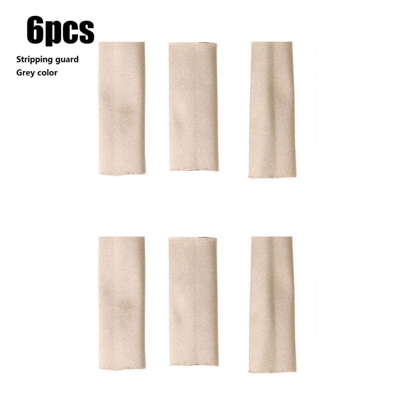 Stripping guard Brown color 6pcs