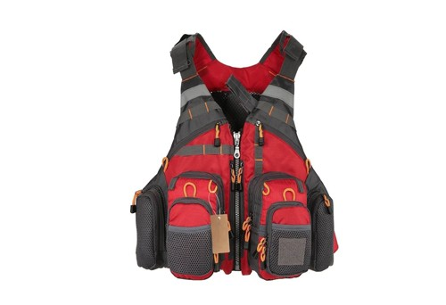Vision fly fishing vest.