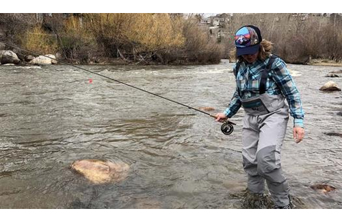 Women's fly fishing waders