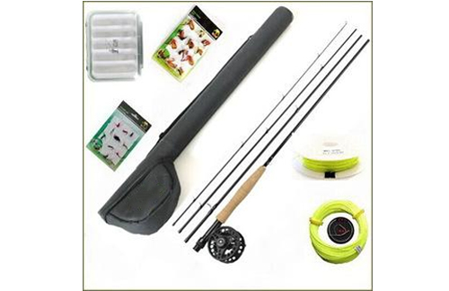 World-class xplorer fly fishing combo
