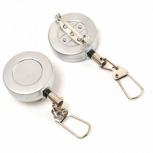 2PCS Steel Wire Zinger Fly Fishing Tool
